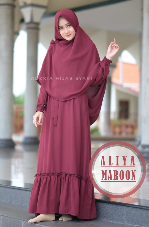 aliya maroon